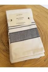 Bloom & Give Malabar Handloomed Kitchen Towels-set of 2 Black