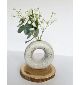 Lucy Michel Mini Loop Vase Speckled