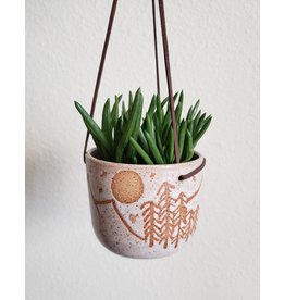 Gopi Shah Ceramics Hanging Planter Mountains Small