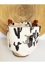 Appetite Shop Large Fabric Bucket-Cactus on Natural