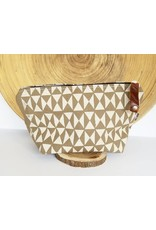Appetite Shop Medium Cosmetic Pouch Harlequin Print