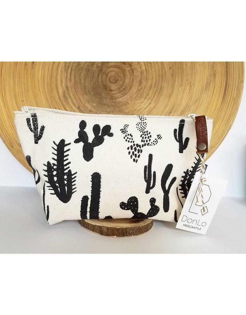 Appetite Shop Medium Cosmetic Pouch Cactus on Natural