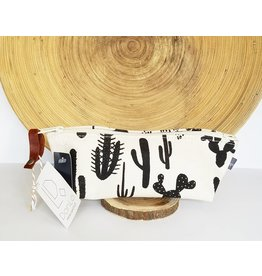 Appetite Shop SM-Cosmetic Pouch Cactus Print Natural