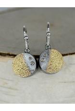 Jenny Reeves Holllow SS Night Earrings-Diamonds Keum Boo