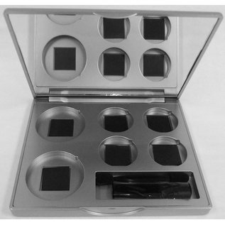Eyes Refillable 6-Hole Compact
