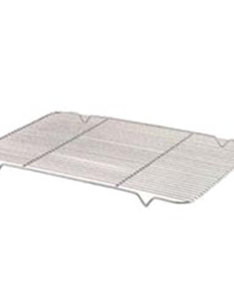 """Browne Rib Grate, 15"""" x 25"""", fits full size pan (18"""" x 26""""), nickel-plated steel wire"""
