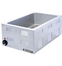 "Adcraft Countertop Food Warmer 12"" x 20"" x 6-1/2""D 120 V"