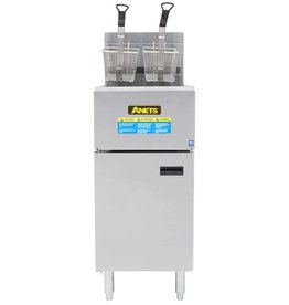 Anets SLG40 Gas Fryer Anets 40 lb  Natural