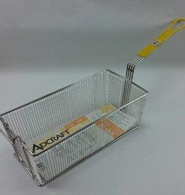"""Adcraft Fry Basket Yellow Handle 17"""" x 8-1/4"""" x 6"""""""