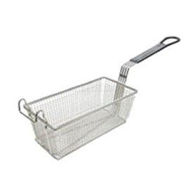 "Adcraft Fry Basket Gray Handle, 13-1/4"" x 9-1/2"" x 6"""