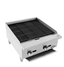 "Atosa ATRC-24 HD 24"" Radiant Char Broiler, Gas"