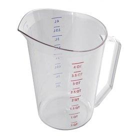 Cambro Cambro 400MCCW135 Measuring cup, 4 qt,/ 1 gallon  Camware polycarbonate Clear