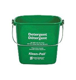 San Jamar, Inc San Jamar KP256GN Kleen-Pail 8 qt, Detergent Green
