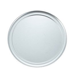 "Winco Winco APZT-12 Wide Rim 12"" Pizza Pan, Aluminum"