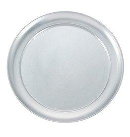 "Winco Winco APZT-8 Wide Rim 8"" Pizza Pan,  Aluminum"
