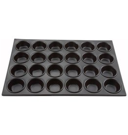Winco Winco AMF-24NS Muffin pan, 24 cup, non-stick