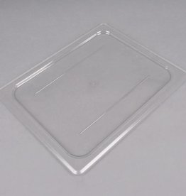 Cambro Cambro 20CWC135 Camwear 1/2 Size Clear Polycarbonate Flat Lid
