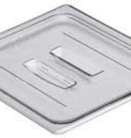 Cambro Cambro 20CWCH135 Camwear 1/2 Size Clear Polycarbonate Handle Lid