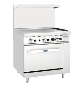 "Atosa Atosa ATO-36G,  36"" Gas Range 36'' Griddle with 26.5''  wide stove ETL"