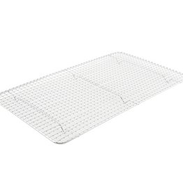 "Update Wire Grate, 10"" x 18"", Full size steam pan"