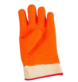 San Jamar, Inc Freezer Food Glove, orange (Large)
