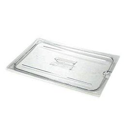 Cambro Camwear Cambro 10CWCHN Clear Food Pan Cover Full Size Notched with Handle