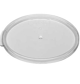 Cambro Camwear Cambro RFSCWC6 Clear 6 & 8 Qt Round Seal Lid