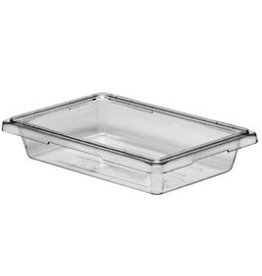 "Cambro Camwear Cambro 12183CW135 Food Box 12"" x 18"" x 3"" Clear 1.75 Gallons"