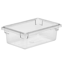 "Cambro Camwear Cambro 12186CW Food Box 12"" x 18"" x 6"" Clear 3 Gallon"