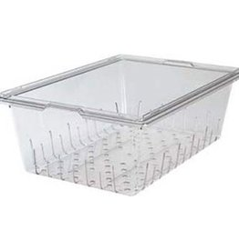 "Cambro Camwear Cambro 18268CLRCW Colander Full-Size, 18"" x 26"" x 8"" - for food box, Clear"