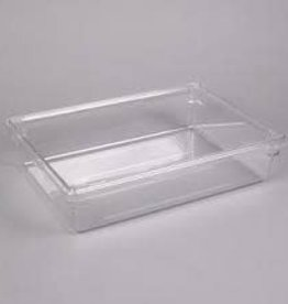 "Cambro Camwear Cambro 18263CW Food box, 18"" x 26"" x 3"", Clear, 5 gallon"