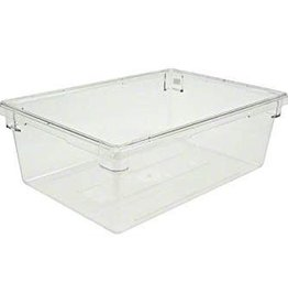 "Cambro Camwear Cambro 18269CW Food box,  18"" x 26"" x 9"" Clear, 13 gallon"