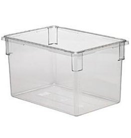 "Cambro Camwear Cambro 182615CW Food Box, 18"" x 26"" x 15"", Clear, 22 gallon"