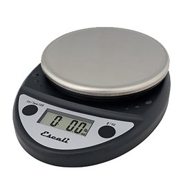 Escali Escali Digital Scale, 11 lb x .1 oz Black NSF