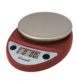 Escali Escali Digital Scale, 11 lb x .1 oz Red NSF