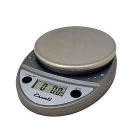 Escali Escali Digital Scale, Digital, 11 lb x .1 oz Metallic NSF