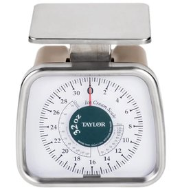 Taylor Taylor TP32 Compact Ice Cream Portion Scale, 32 oz x 1/4 oz dial