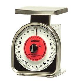 Pelouze Pelouze FGY450R Mechanical Portion Scale, 50 lb x 4 oz,