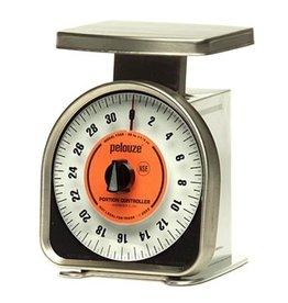 Pelouze Pelouze FGY32R Mechanical Portion Scale, 32 oz, 1/4 oz, Dial