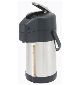 Winco Airpot, 2.2 Liter Stainless Steel with Lever