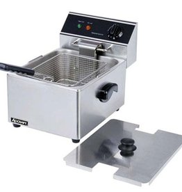 Adcraft Electric Countertop Fryer  Single Well 120 V