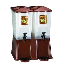 Tablecraft Slim Beverage Dispenser Brown  (2) 3 Gallon