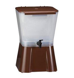 Tablecraft Beverage Dispenser Single 3 Gallon Brown