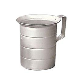 Winco Measuring cup, 4 quart (1 gallon) Aluminum