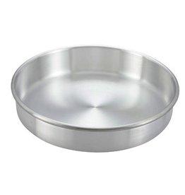 "Winco Winco ACP-083 Round Aluminum 8"" x 3"" Cake Pan"