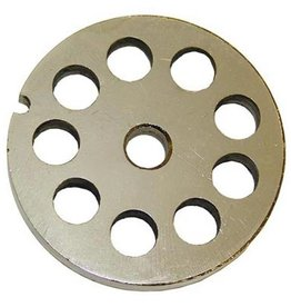 "Alfa Meat Grinder Plate #12  with  1/2"" Holes"