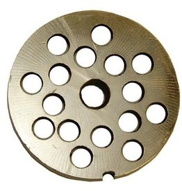 "Alfa Meat Grinder Plate #12 with 3/8"" Holes"