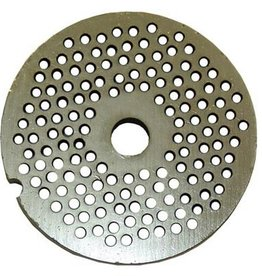 "Alfa Meat Grinder Plate #22  with 1/8"" Holes"