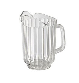 Winco Water Pitcher, 60 oz Clear  3 spout