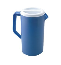 Rubbermaid Rubbermaid 2 1/4 quart Blue Pitcher with white lid